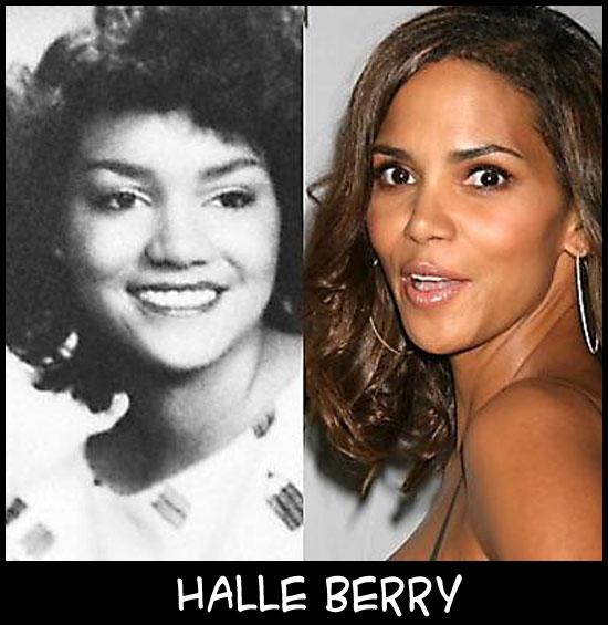 O poder da cirurgia plástica HalleBerry