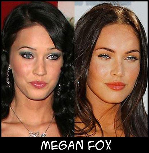 O poder da cirurgia plástica MeganFox